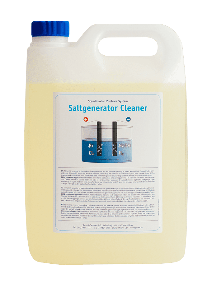Saltgenerator Cleaner