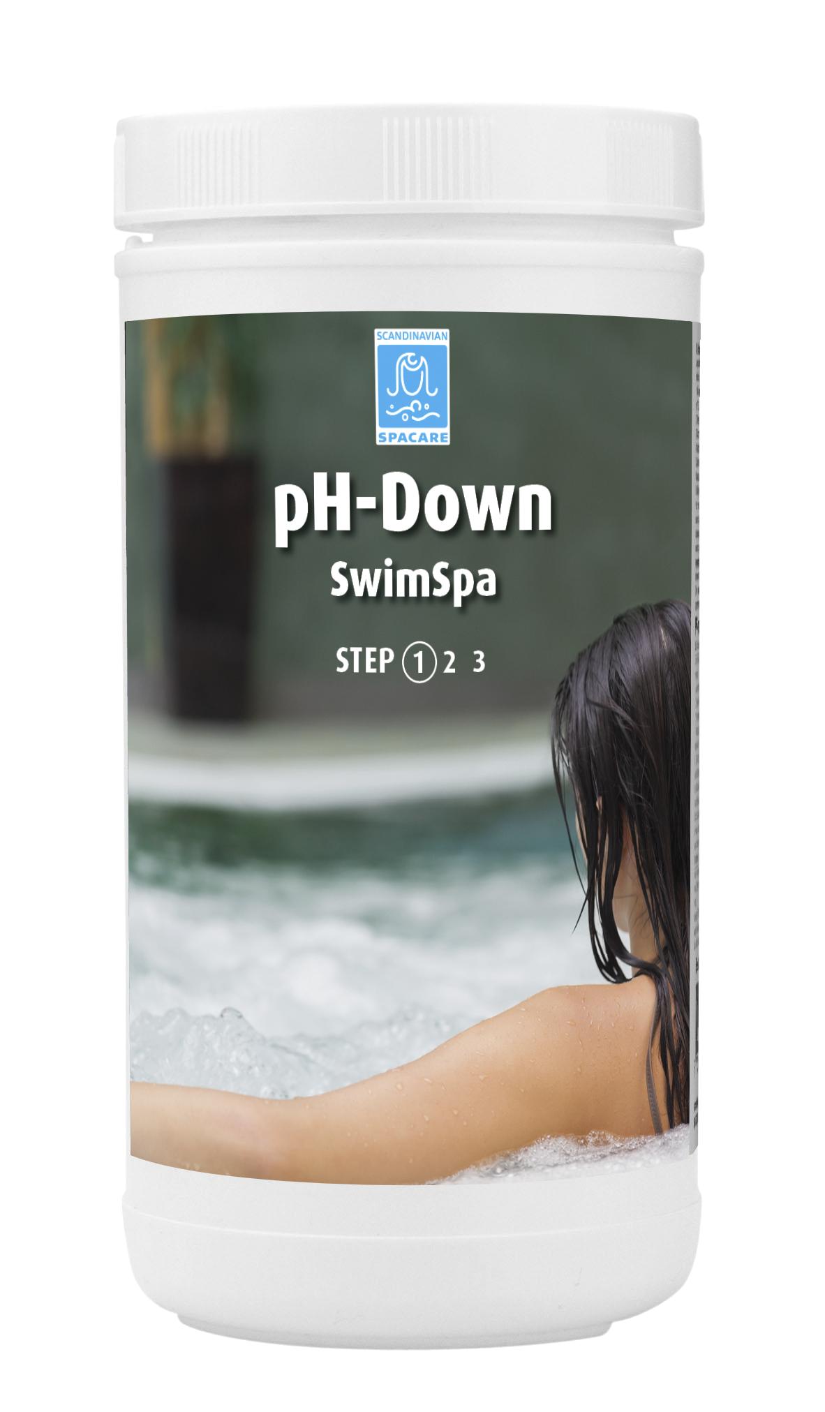 SpaCare SwimSpa pH-Down Granular