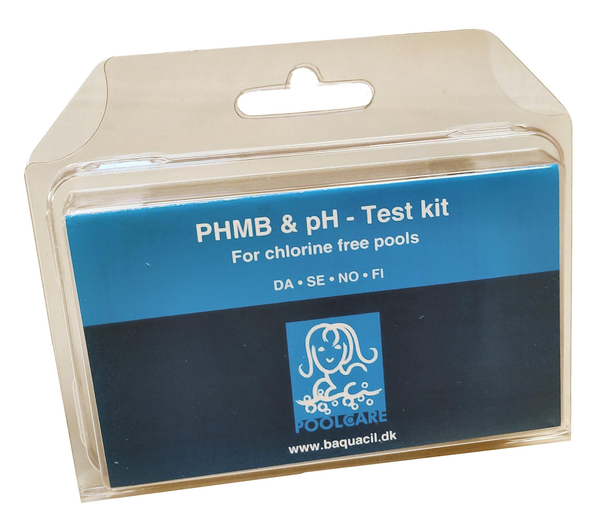 BAQUACIL pH/PHMB Tester (håndryster)