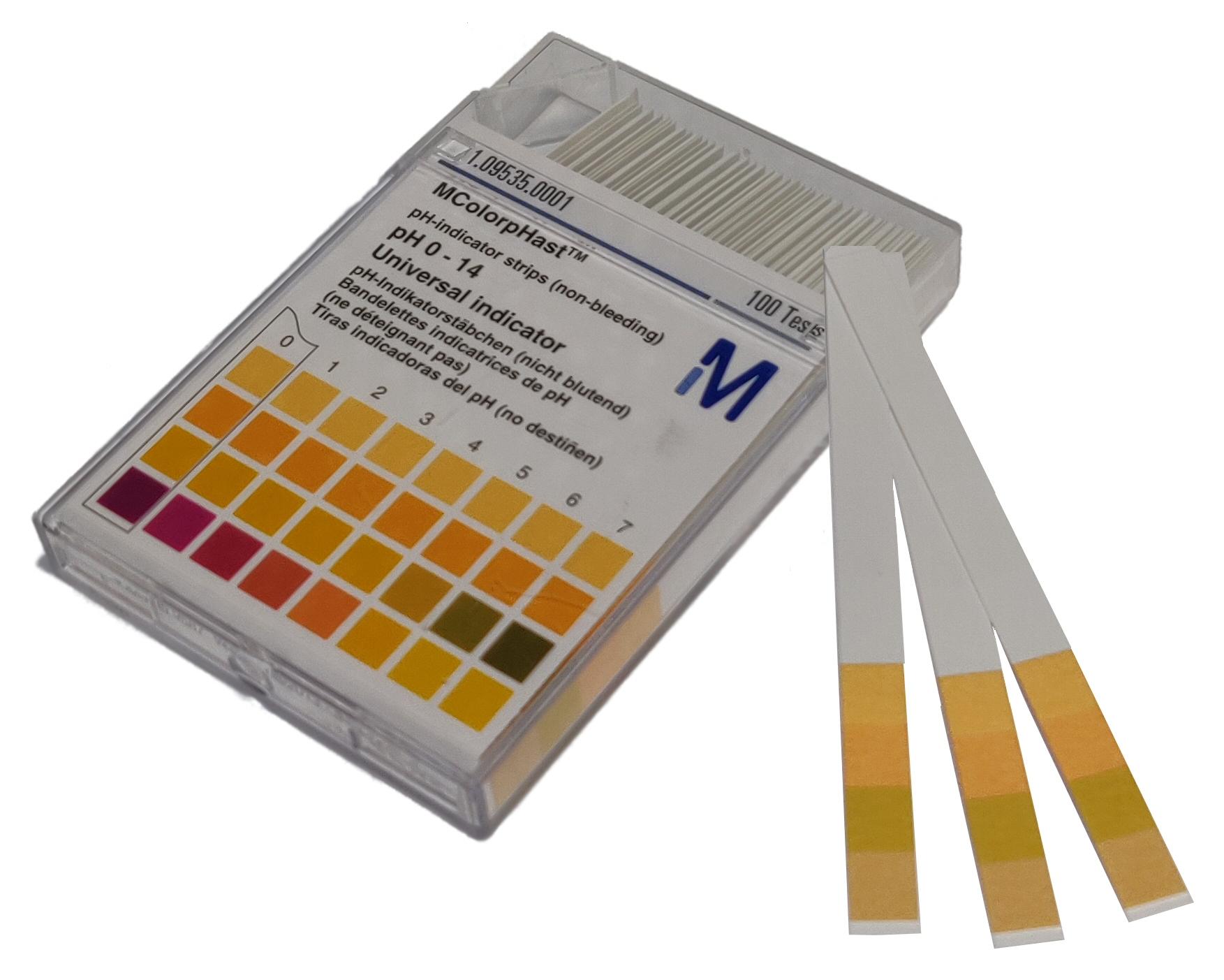 pH-Indikatorstrips