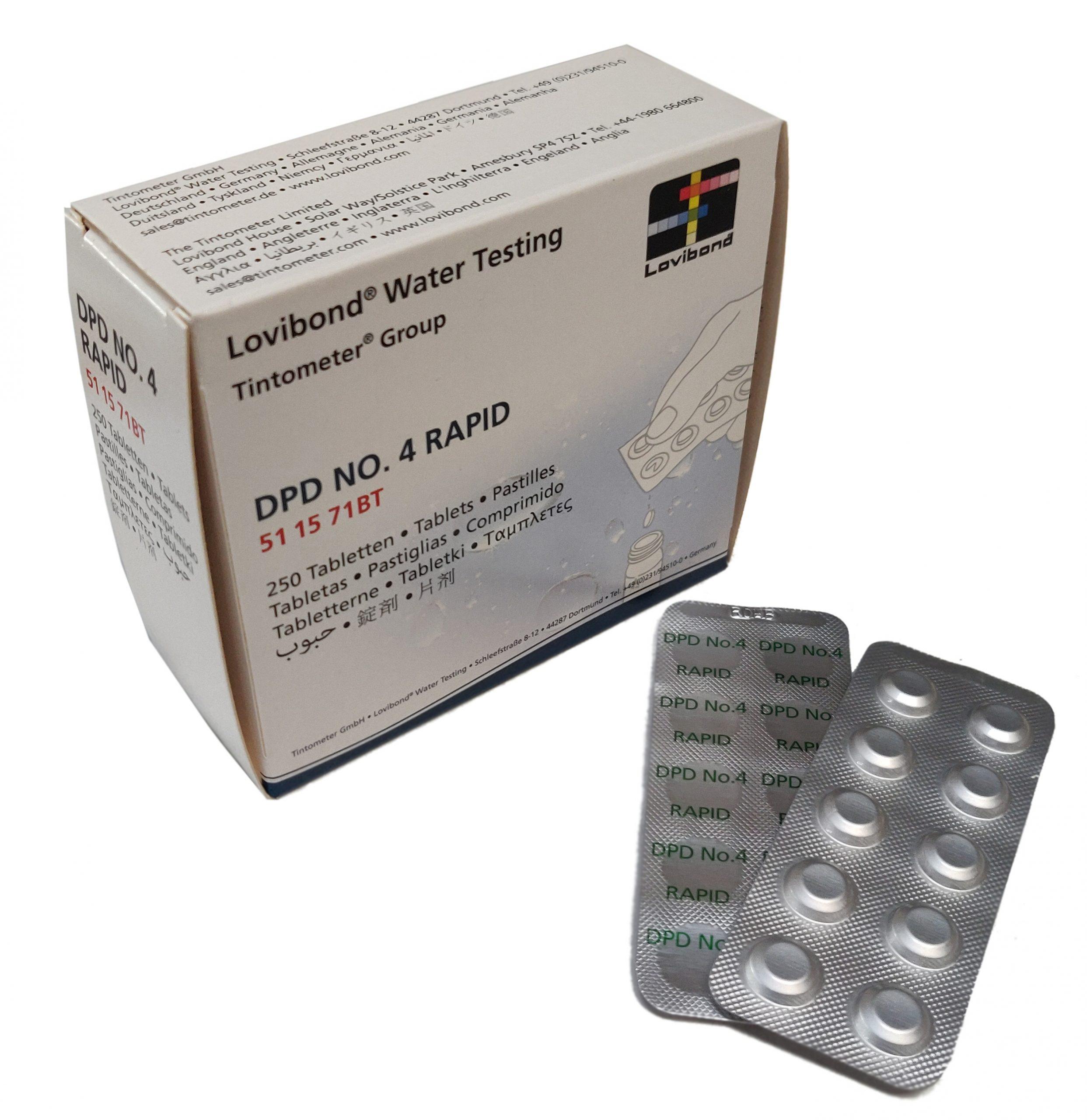 DPD nr. 4 Rapid, Aktiv Oxygen (håndryster)