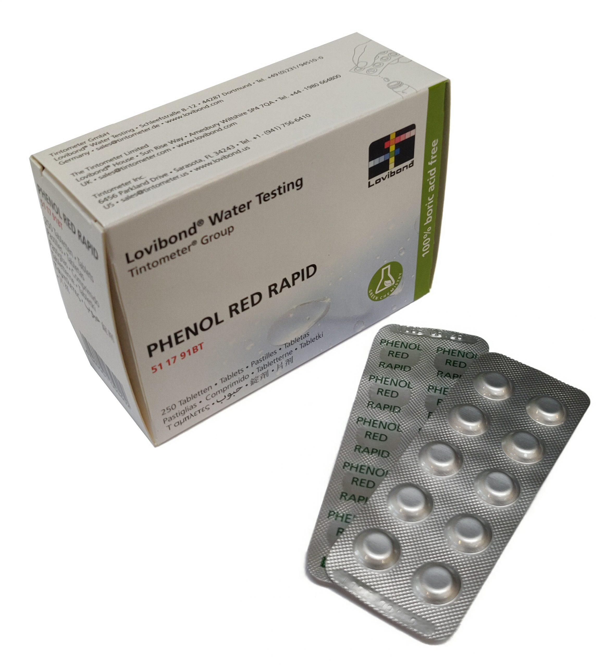 pHenol Red Rapid, pH (håndryster)